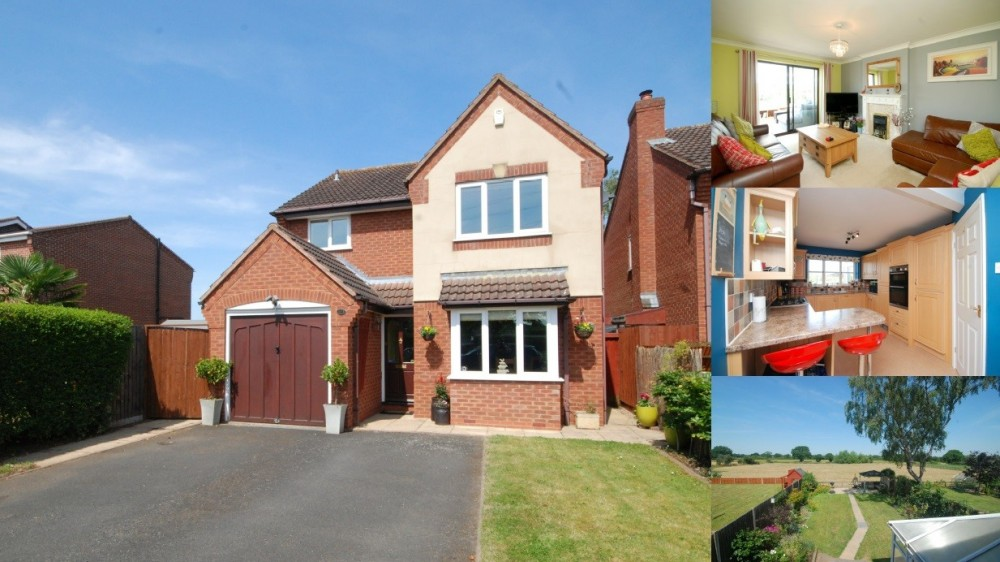 **OPEN HOUSE THIS WEEKEND** At an attractive family home in Kings Bromley