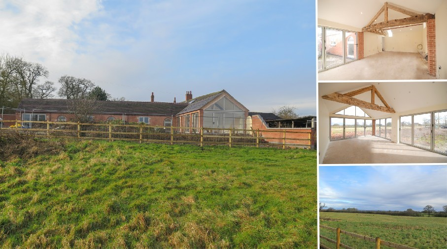 An outstanding opportunity to purchase a DETACHED BARN CONVERSION