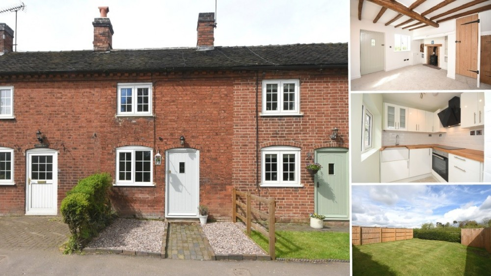 NEW INSTRUCTION - A charming and immaculately renovated cottage