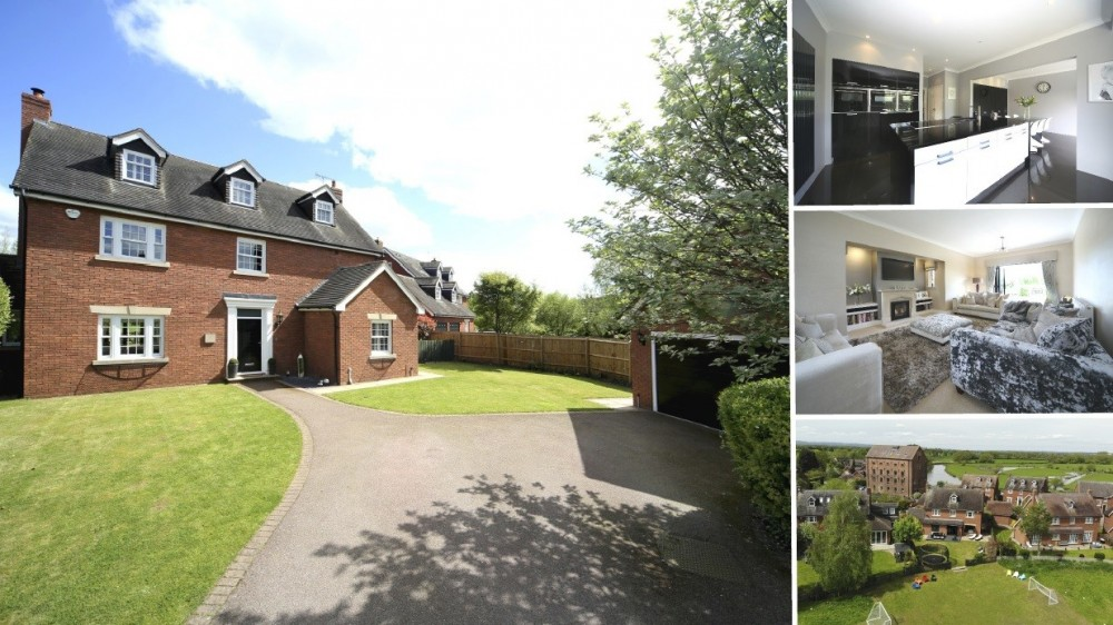 A Stunning Executive Detached Home on the Gated Cotton Close, Alrewas