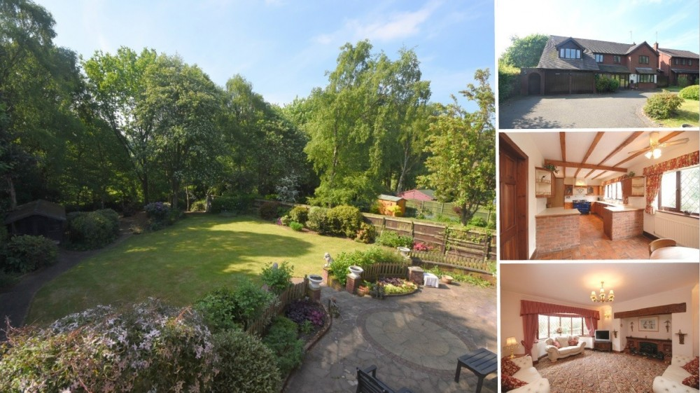**PRICE REVISED** Boasting plenty of potential and stunning south facing gardens!