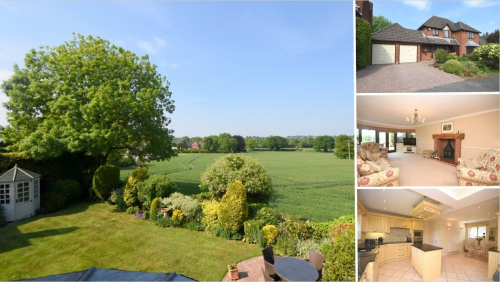 **NEW INSTRUCTION** Beautiful Countryside Views & a Peaceful Cul de Sac Position within Hammerwich