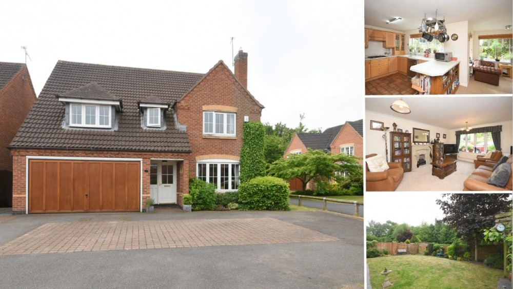 **NEW INSTRUCTION** A superb detached family home in the popular village of Alrewas