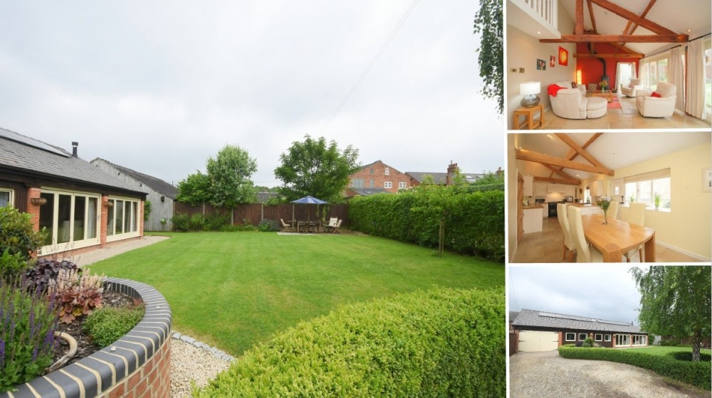**PRICE REDUCTION** A stunning barn conversion within John Taylor School Catchment