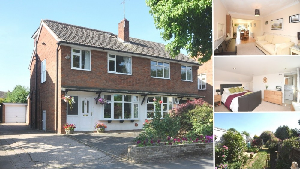 **NEW INSTRUCTION** A superb four bedroom family home with south facing gardens in Alrewas