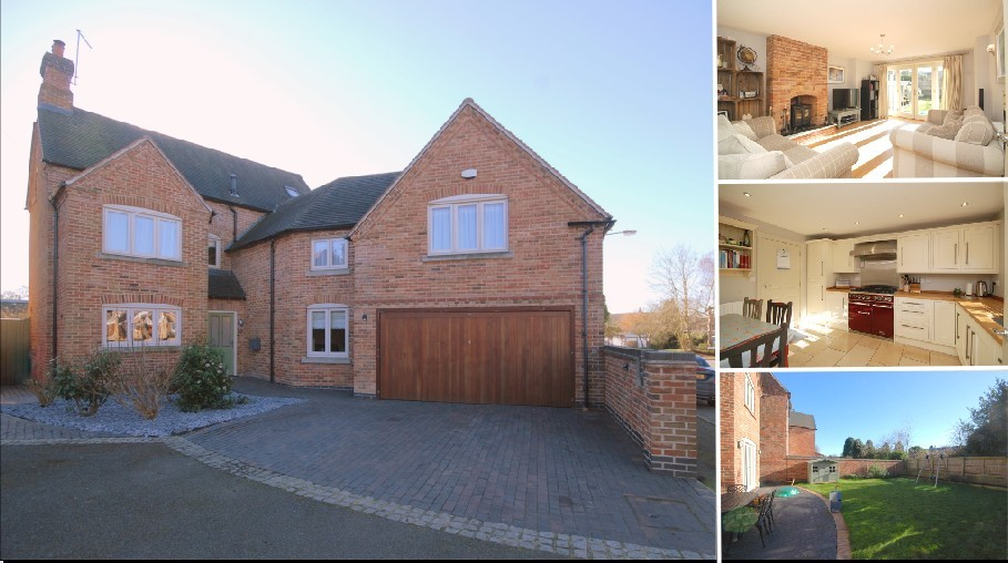 **A MODERN EXECUTIVE DETACHED FAMILY HOME**