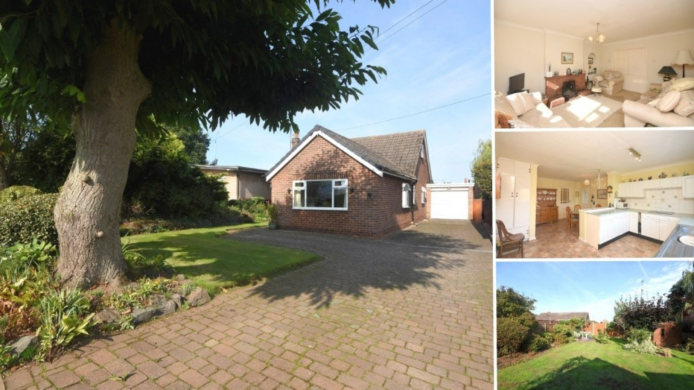 **NEW INSTRUCTION** A generous detached bungalow in the popular village of Clifton Campville