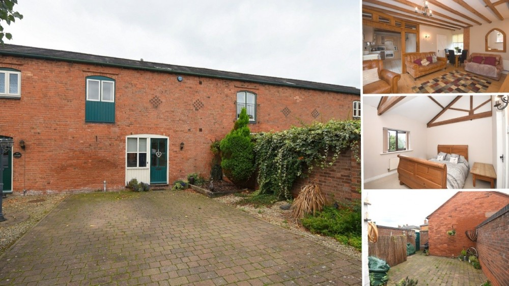 **New to Market** An individual barn conversion in the popular rural village of Tatenhill