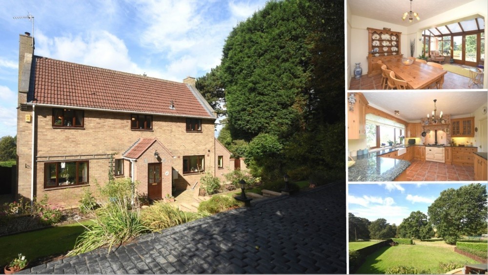 **Rare Addition to the Market** An executive detached home set within a private development