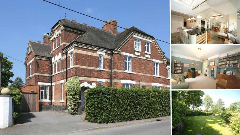 **New Instruction** An extended and upgraded Victorian home with rural views