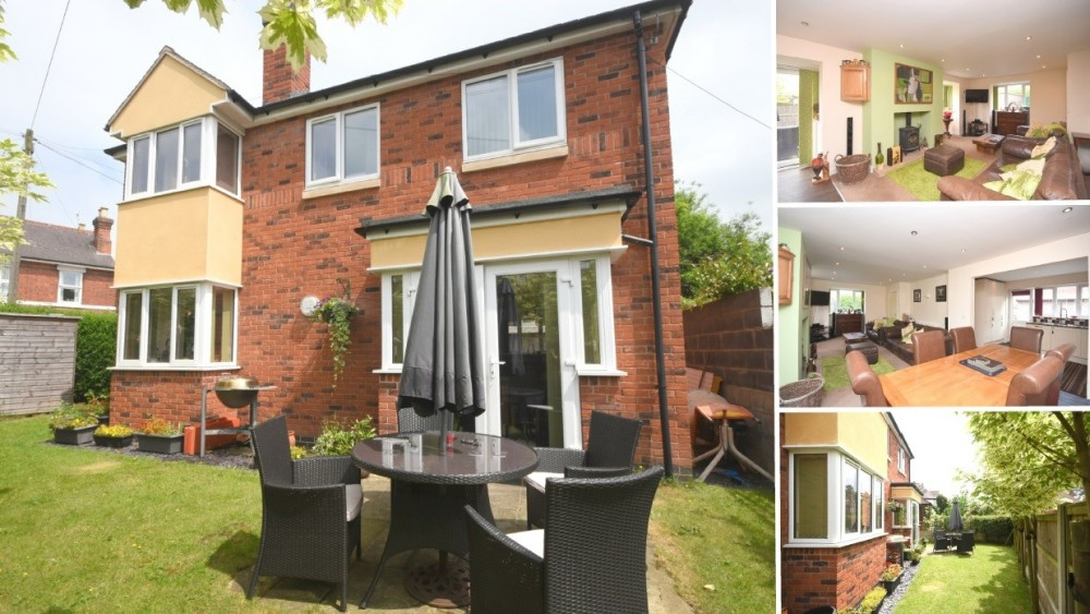 **PRICE REVISED** A modern detached family home close to the heart of Uttoxeter