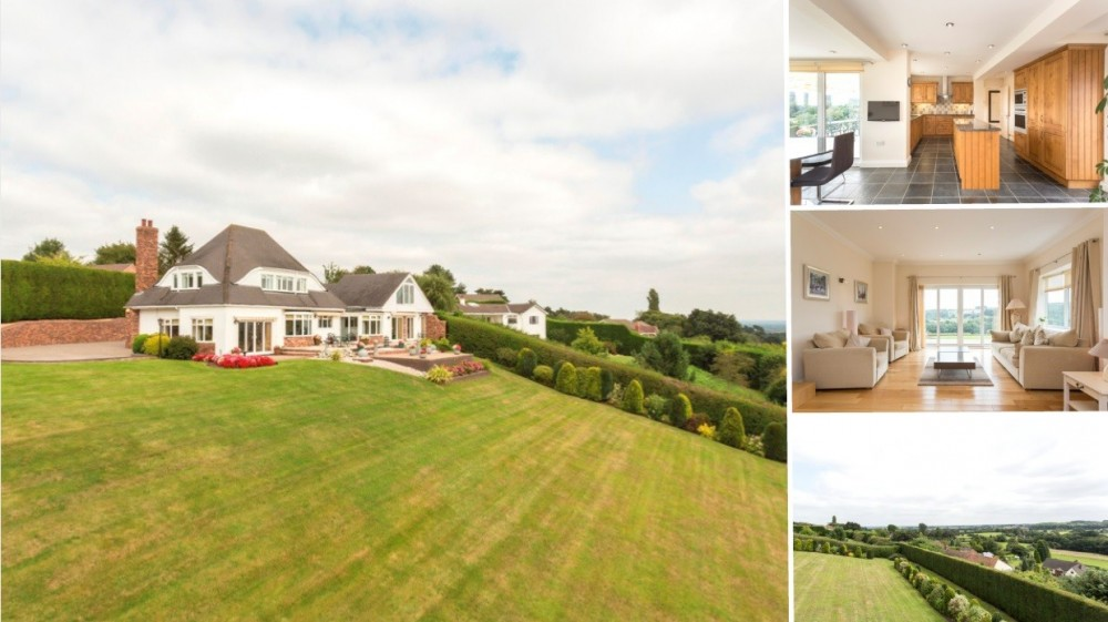 **New Instruction** A contemporary detached country home with stunning views