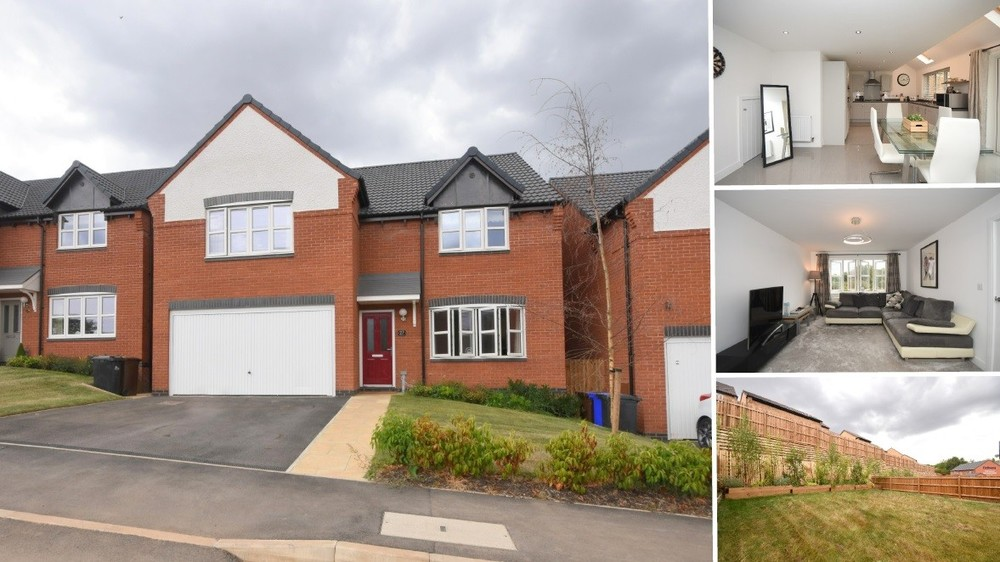 **PRICE REVISED** A contemporary detached family home with an open aspect to the front