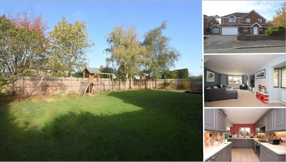 **New Instruction** A spacious detached family home in Kings Bromley