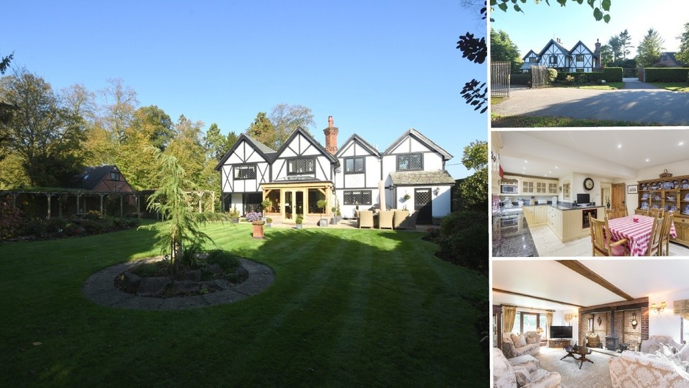 **New Instruction** A beautifully presented detached country home with south facing gardens