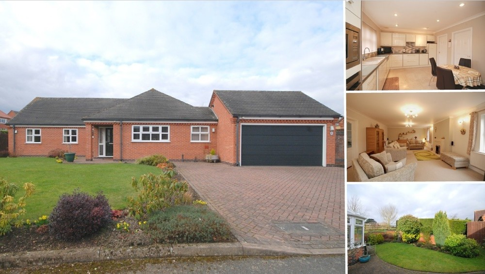 **PRICE REVISED** A stunning refitted bungalow benefitting from immaculate interiors and a wrap around garden plot set on a private sul de sac