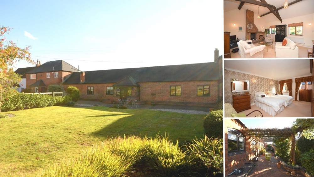 **NEW TO THE MARKET** An impressive new instruction set on a private rural development in Rangemore