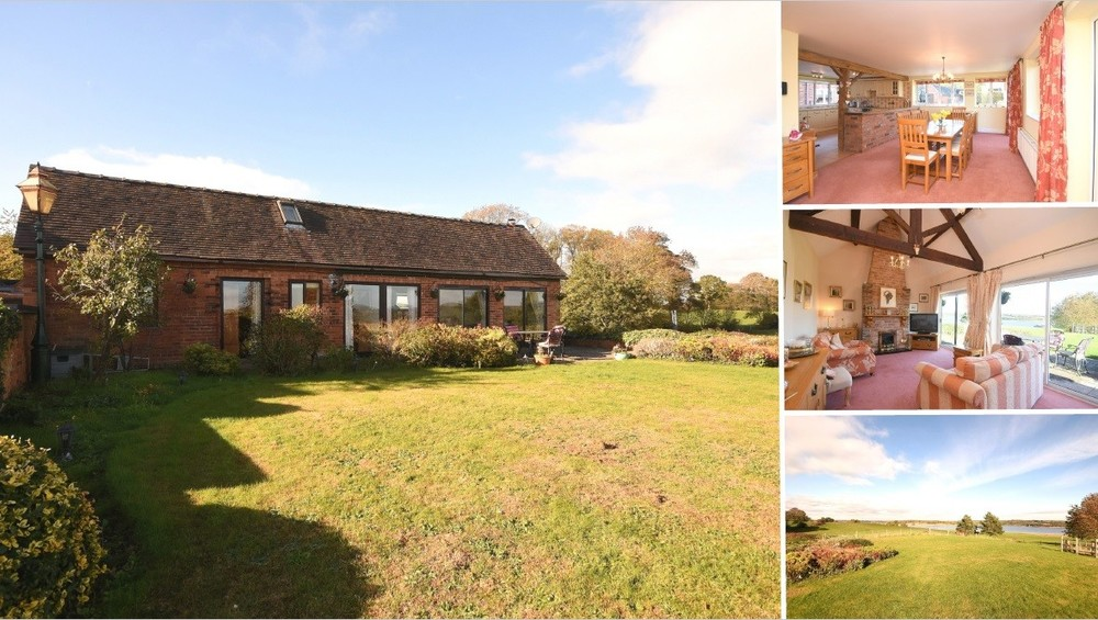Gardens, Character & Plenty of Potential in Admaston, all overlooking Blithfield Reservoir!