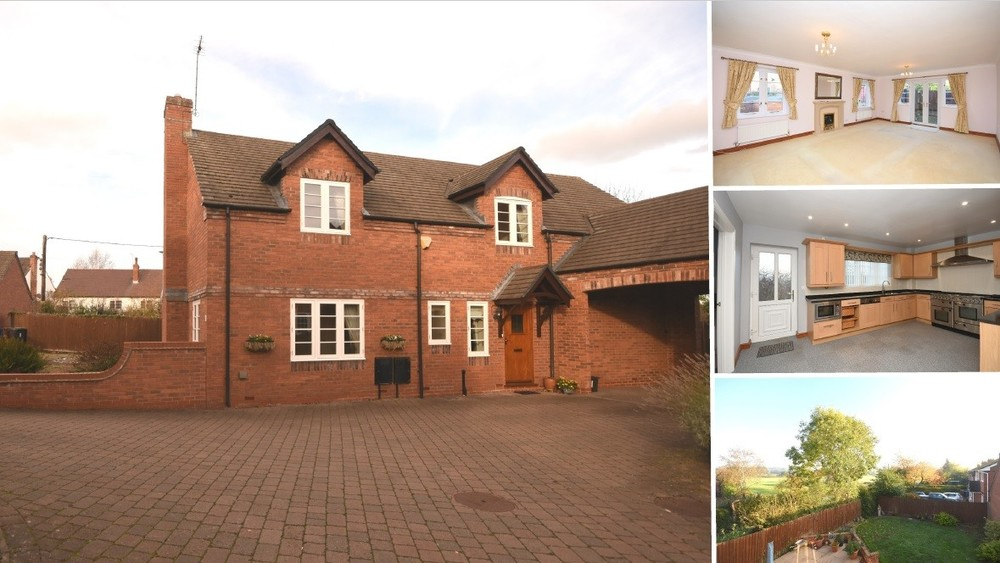 Price Revised on this executive family home in Abbots Bromley!