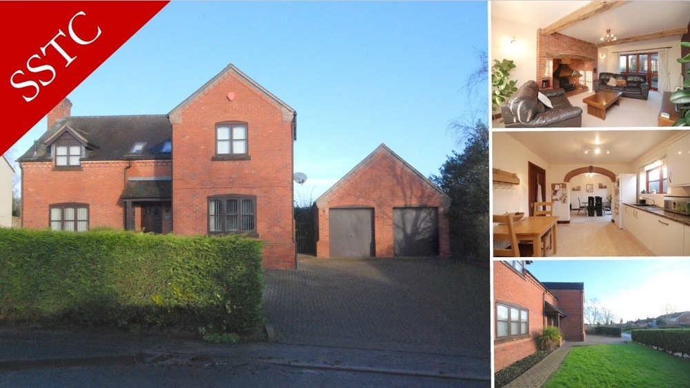SOLD! A spacious detached family home in Abbots Bromley