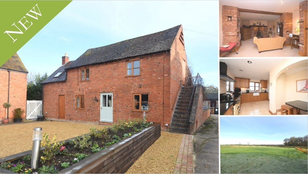 A stunning detached barn conversion in an idyllic location
