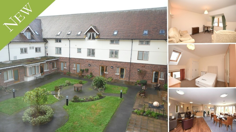 New to the Market! A second floor apartment set within a Award Winning Assisted Living Facility in Barton under Needwood