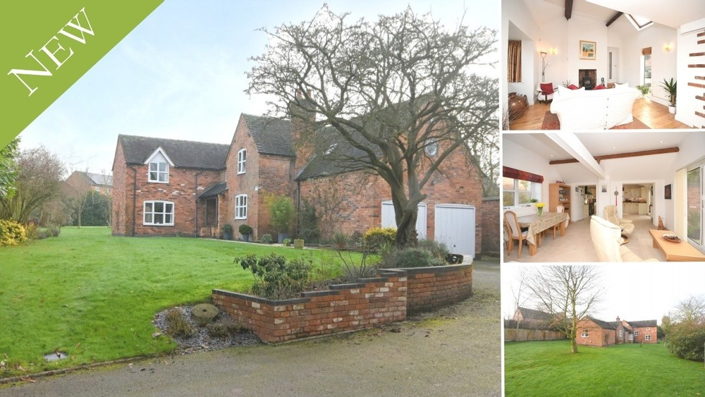 A beautiful detached cottage with immaculately upgraded interiors set within a generous and mature gated plot