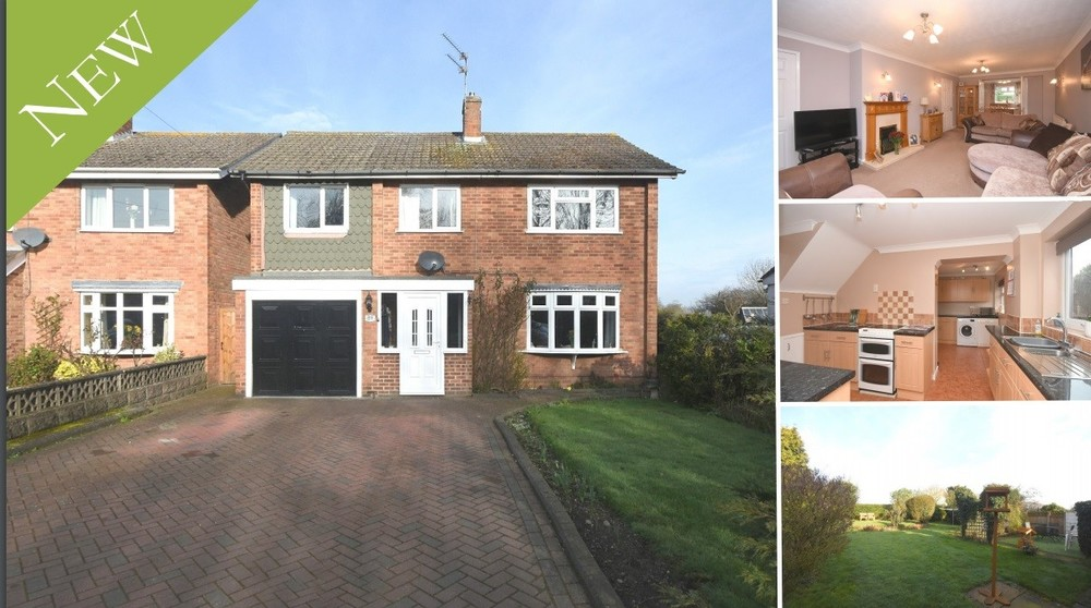 New! A superb detached family home enjoying an open aspect to the front and rear within Barton under Needwood