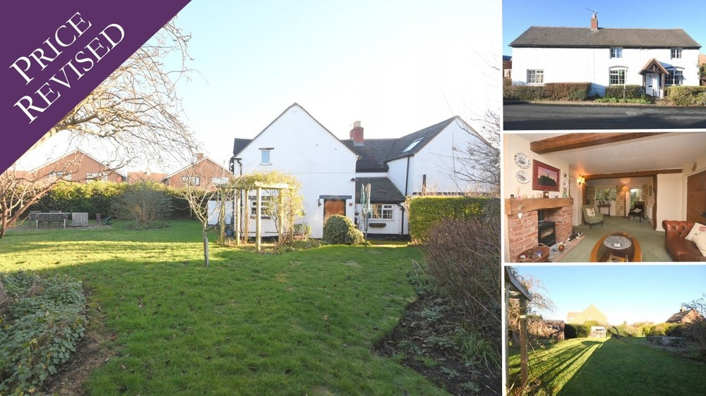 An excellent development opportunity and a new price on this character cottage!
