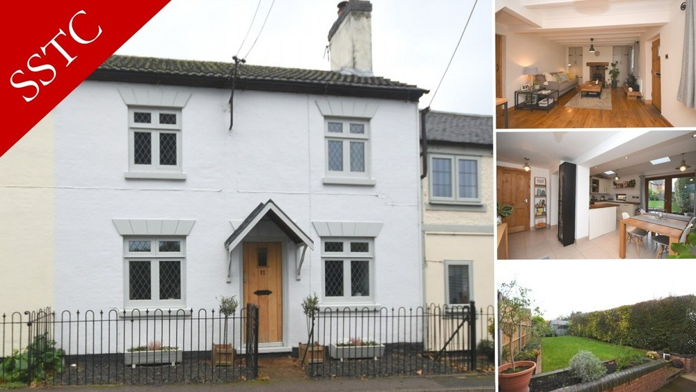 Sale Agreed on this charming cottage in Coton in the Elms!