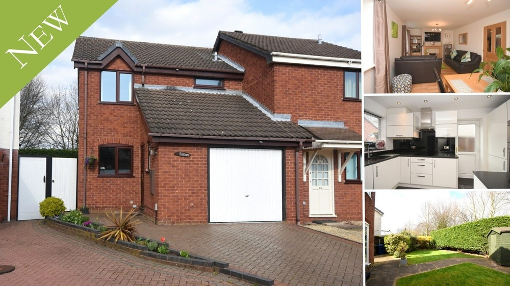 New to the Market: an ideal first time buy, investment property or young family home in Lichfield