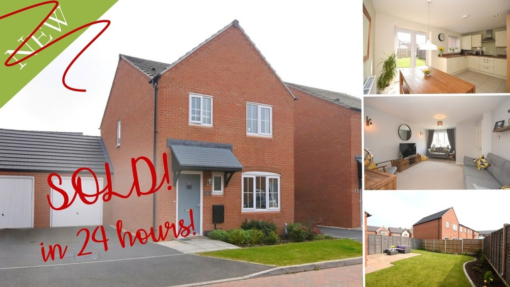 SOLD in 24 HOURS! An immaculate link detached home in Barton under Needwood