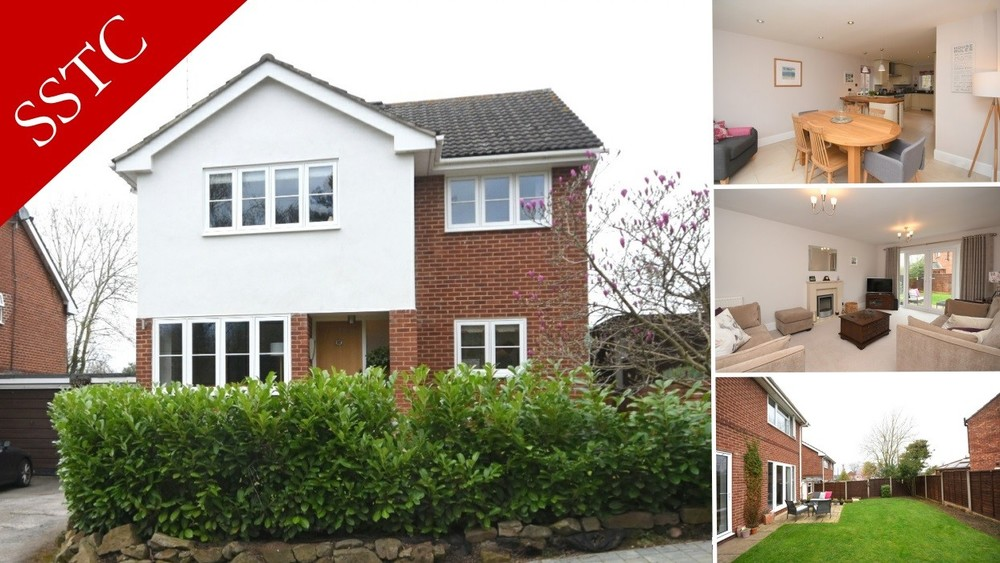 Sale Agreed on this beautifully refurbished detached family home in Walton on Trent!