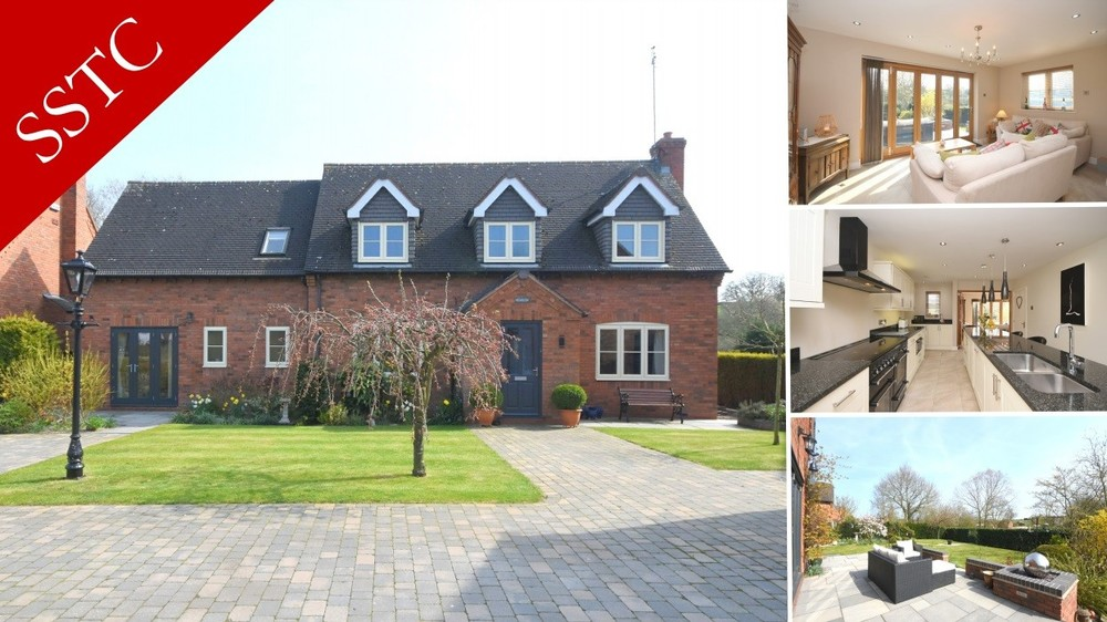 Sale agreed on this executive detached family home set in the popular village of Newborough