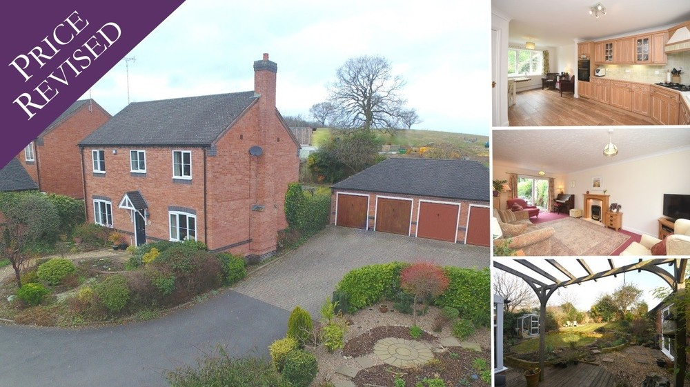 New Price! A attractive detached family home on a private development within John Taylor Catchment!