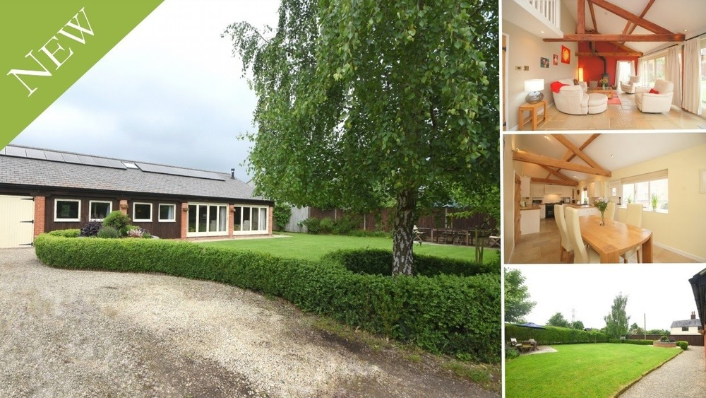 New to the Market! An individual contemporary barn conversion on the outskirts of Barton under Needwood