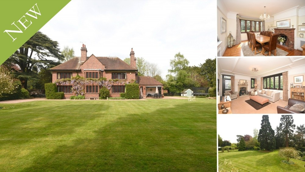 A most impressive 1930s residence set amidst stunning grounds in the sought after village of Rolleston on Dove