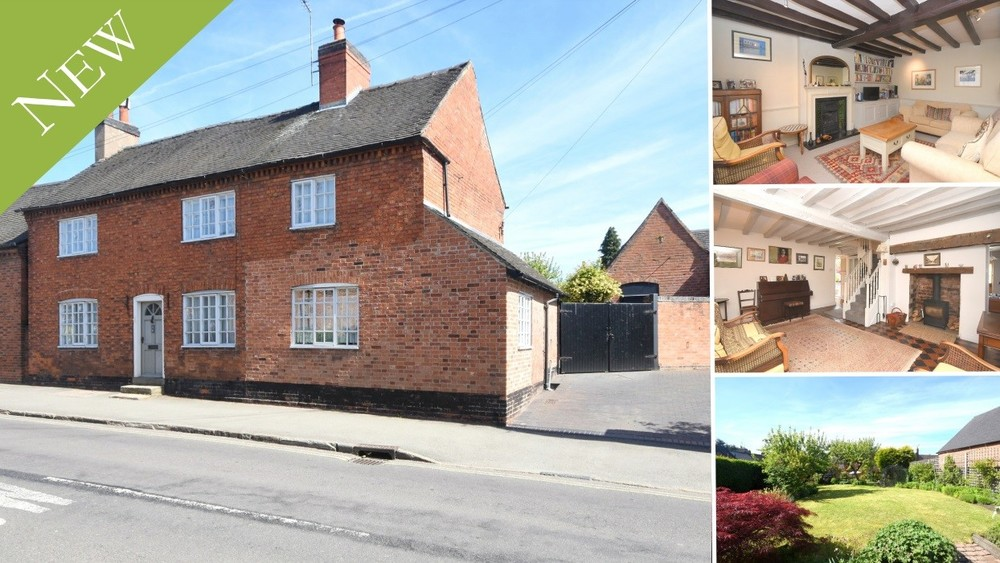 Plenty of character, space and potential in the heart of Barton under Needwood