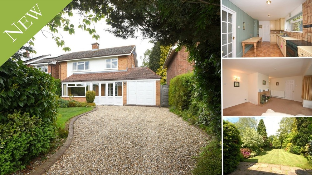New to the Market! A detached home offering scope for modernisation and a stunning garden plot