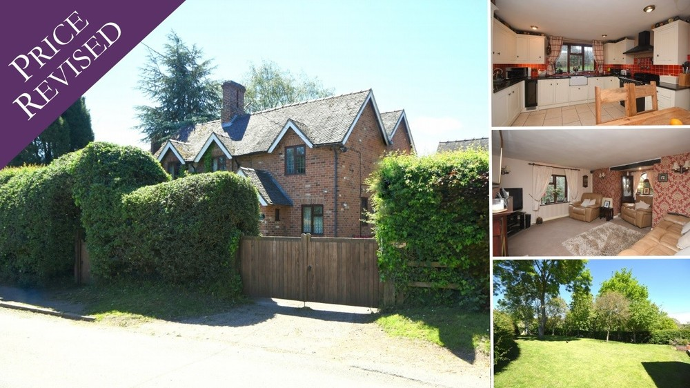 **PRICE REVISED** A detached cottage with a wealth of character, a generous garden plot and a prime position in the idyllic Hamstall Ridware