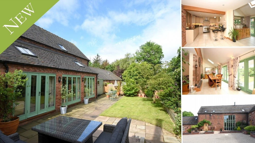 **New Instruction** A stunning barn conversion within a private development close to Cannock Chase