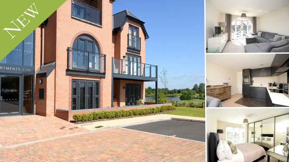 A prestigious setting for this first floor luxury apartment in Barton under Needwood