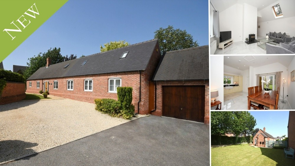 **NEW** An individual detached barn conversion set in a secluded spot in the centre of Alrewas