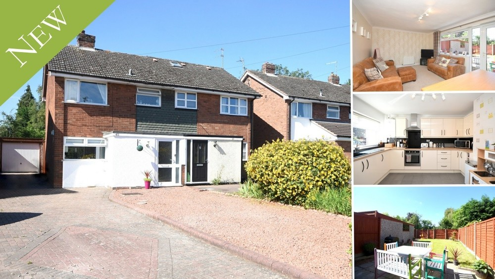 New to the Market - An ideal first time buy/young family home in Barton under Needwood