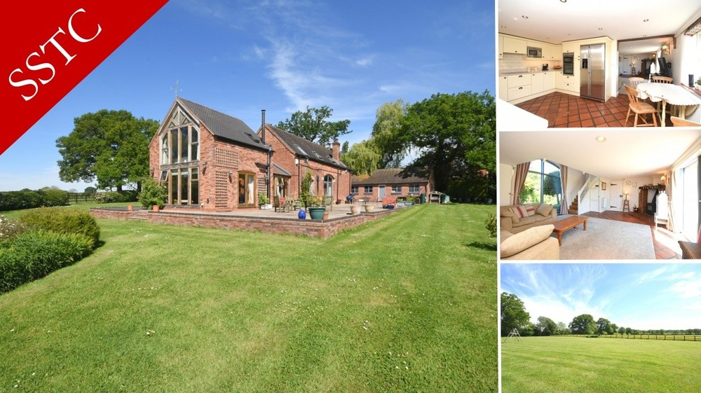 **SSTC** A stunning barn conversion set within a beautiful garden plot