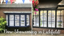 Now Showcasing in Lichfield City Centre!
