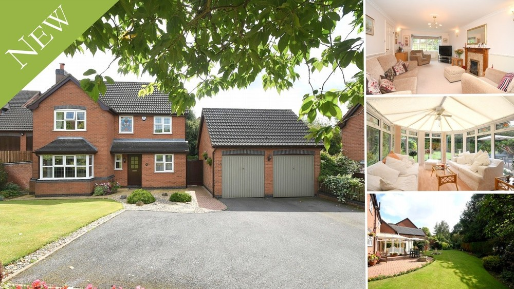 **New Instruction** A spacious detached family home with generous gardens set on the desirable Brizlincote Valley
