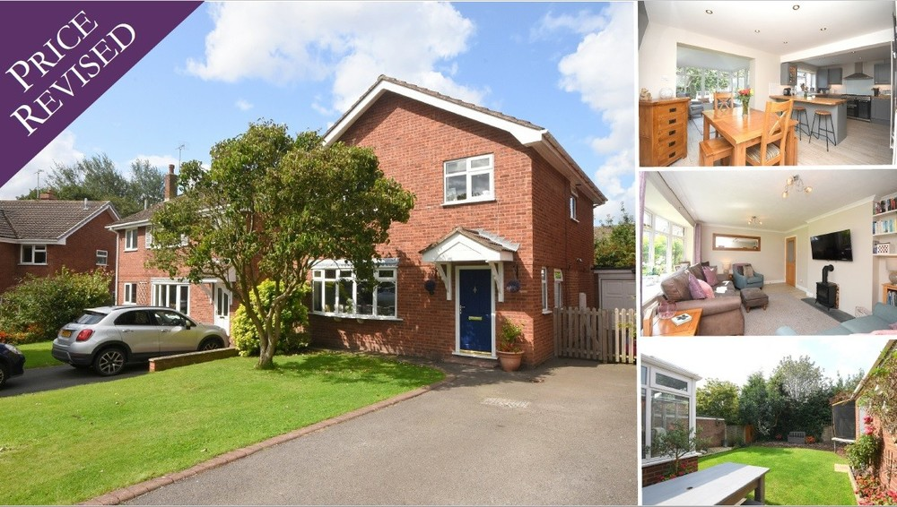 Price revised on this superb four bed in Barton under Needwood!