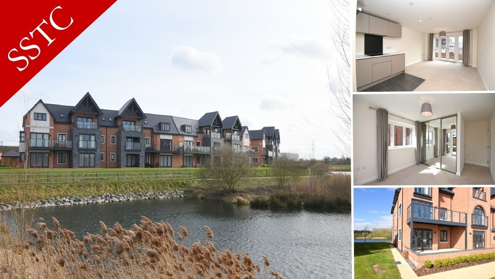 **SSTC** Sale agreed on this contemporary Lakeside apartment!