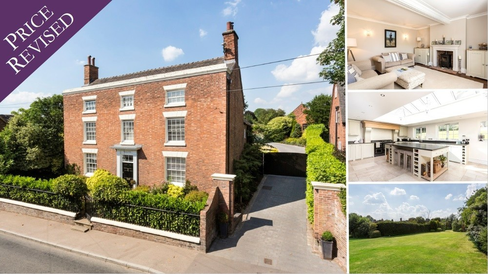 **Price Revised** on this elegant and immacualte Georgian home is the heart of Abbots Bromley